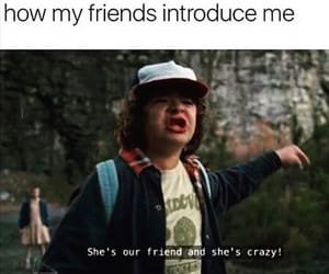 funny, stranger things, and friends image