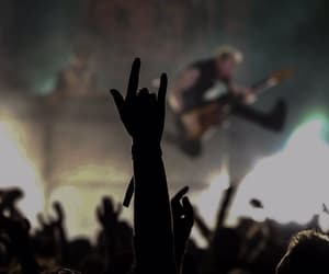 concert, guitar, and rock image