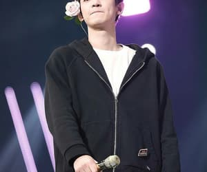 exo, chanyeol, and flower image