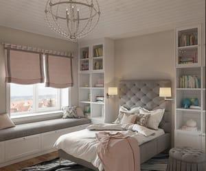 bedroom, decoration, and quarto image