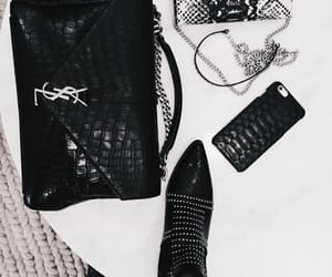 boots, fashion, and YSL image