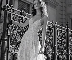 beautiful, black and white, and Couture image