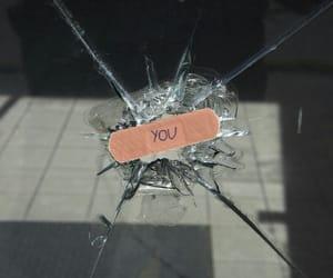 glass, grunge, and broken image
