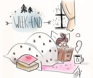 weekend and book image