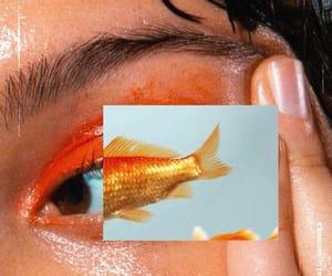 aesthetics, eyeshadow, and fish image