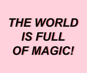 pink, quotes, and magic image