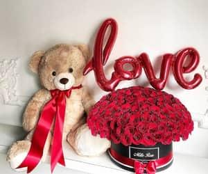 love, boyfriend, and flowers image