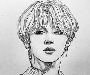 art, bts, and jimin image