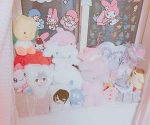 pink, room, and サンリオ image