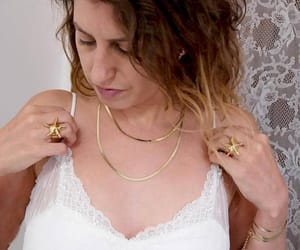 etsy, dainty necklace, and statement jewelry image