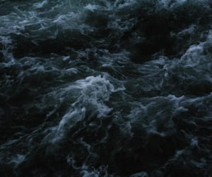 dark, ocean, and sea image