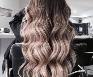 beauty, hair style, and long hair image