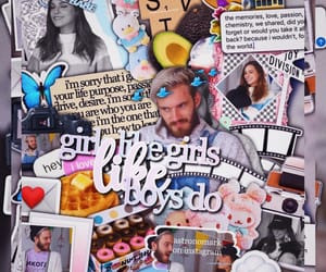 pewdiepie, marzia, and complex edit image