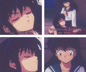 inuyasha, kagome, and anime couples image