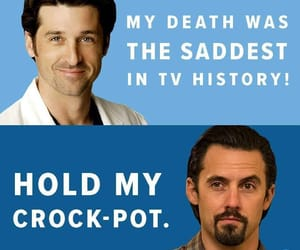 greys anatomy, mandy moore, and Milo Ventimiglia image