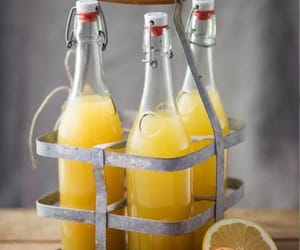 orange, juice, and drink image