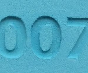 007, blue, and numbers image