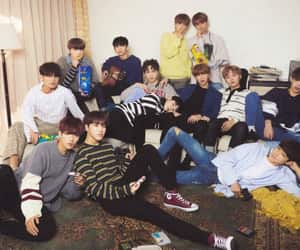 Seventeen, DK, and mingyu image