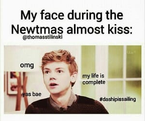 newtmas and dylan o'brien image