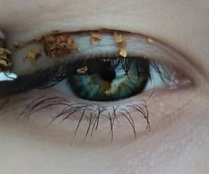 cigarettes, eye, and green image