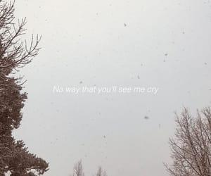 cry, Lyrics, and quote image