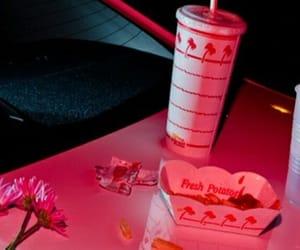 header, pink, and soda image