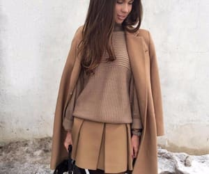 fashion, style, and brown image