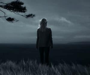 alone, dark, and deep image