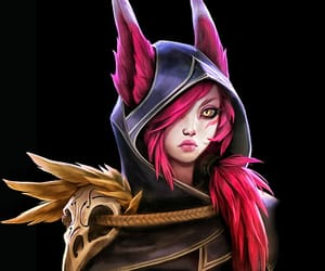lol, league of legends, and xayah image