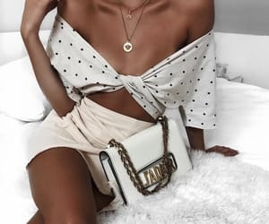 beautiful, brown, and necklace image