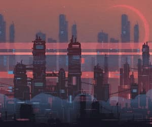 gif, city, and aesthetic image
