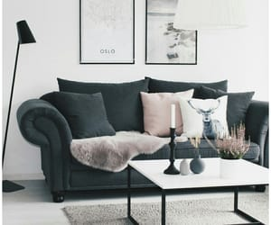 aesthetic, decor, and living room image