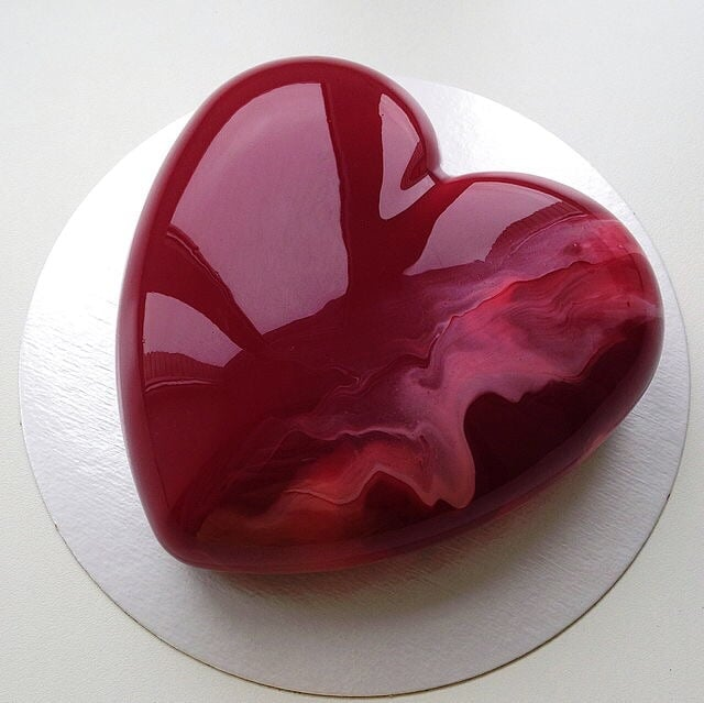 dessert, food, and heart image