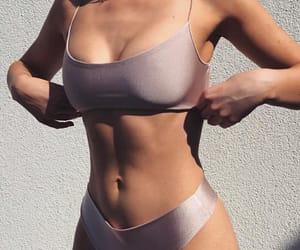 girl, body, and bikini image