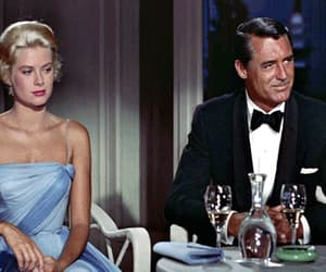 grace kelly, to catch a thief, and cary grant image