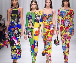 Donatella Versace and art & fashion image