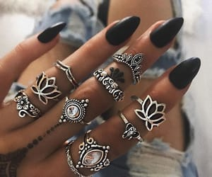 beautiful, fingers, and jeans image