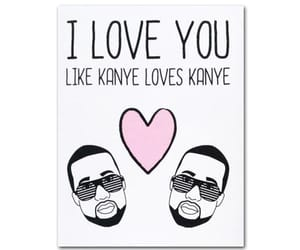 kim, valentines, and kanyr image