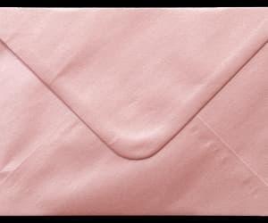 pink, envelope, and Letter image