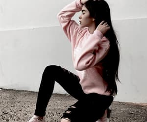 beauty, hair, and clothes image