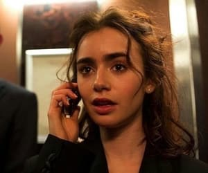 beautiful, girl, and lillycollins image