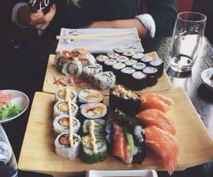 asian, food, and sushi image