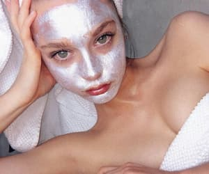 beautiful, shine, and face mask image