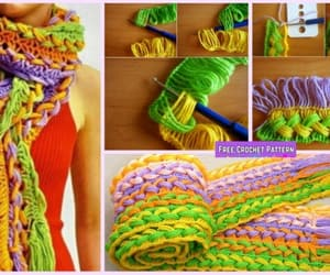 crochet and scarf image