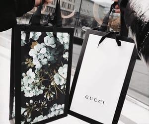gucci, shopping, and bag image