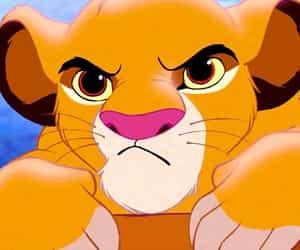 simba, the lion king, and disney image