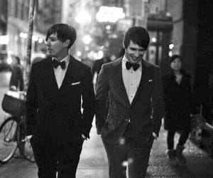 black and white, dan and phil, and phil lester image