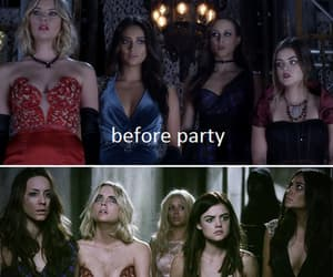 pretty little liars, pll, and party image
