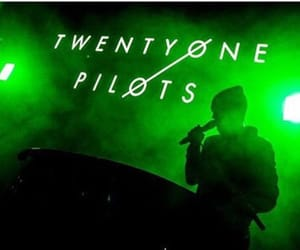 green, twenty one pilots, and band image