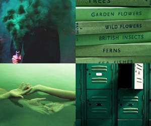 aesthetic, alien, and green image